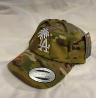LA Los Angeles Palm Tree Cotton adjustable Trucker Hat FREE SHIPPING!!