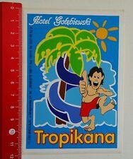 Aufkleber/Sticker: Hotel Gotebiewski - Tropikana (250616133)