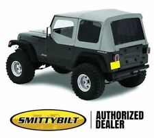 Premium Replacement Soft Top kit for 1988-1995 Jeep Wrangler YJ in Denim Gray