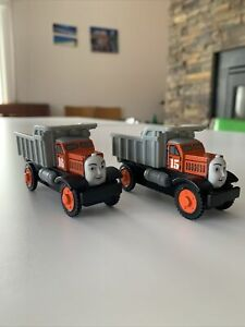 Learning Curve Thomas And Friends Wooden Railway Max And Monty Good Condition