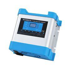 20 A 12 V intelligent automatique multi-étape Secteur Chargeur de batterie avec écran LCD