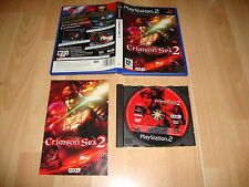 CRIMSON SEA 2 ACCION - ROL DE KOEI PARA LA SONY PLAY STATION PS2 USADO COMPLETO