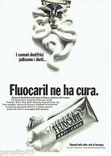 PUBLICITE ADVERTISING 046  1969  Fluocaril dentifrice anti-carie