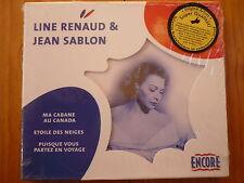 Line renaud & Jean sablon-Ma cabane au Canada Etoile du neiges OVP
