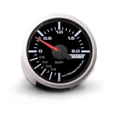 Genuine TurboSmart Boost 52 mm BARRA Gauge Nero con illuminazione bianca