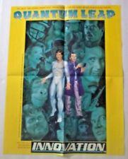 Quantum Leap Promo Poster 1992 Innovation 17 x 22 Sci-Fi