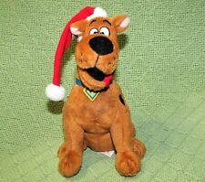 "TY BEANIE BABIES SCOOBY DOO SANTA HAT CHRISTMAS PLUSH STUFFED ANIMAL 7"" RETIRED"