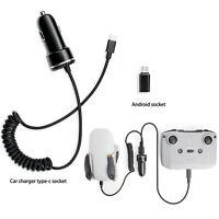 Dual Car Charger Charging Hub for DJI Mavic Mini 2 Drone Remote Control Battery