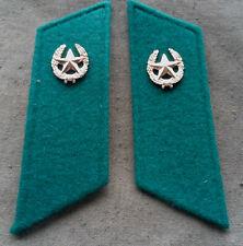 Kragenspiegel lange version Mot.Truppen Grenze Mantel for Coat UDSSR CCCP SU