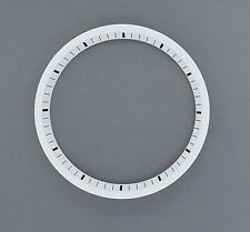White SEIKO 7002 Chapter Ring (minute track- mod parts) Brand New.