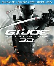 G.I. Joe: Retaliation (Blu-ray 3D/Blu-ray/DVD/Digital HD +UltraViolet) NEW!