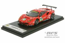 Ferrari 488 GTE 24h Le Mans 2017 Vilander Fisichella Kaffer 1:43 Looksmart LM068