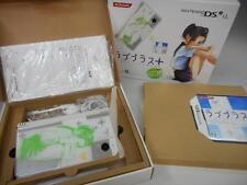 "Nintendo DS Love Plus + ""Rinko Deluxe"" Konami F/S From Japan limited model green"