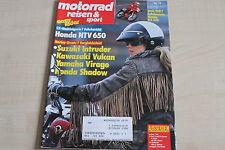 164691) Honda NTV 650 Fahrbericht - Motorrad Reisen Sport 10/1988