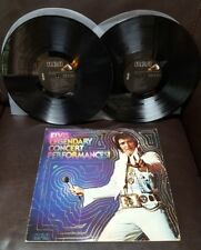 elvis Presley Elvis Legendary Concert Performances  Double Vinyl LP R244047