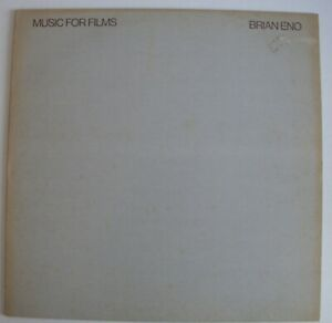 Brian Eno - Music For Films (1978 UK edition with original track order) LP