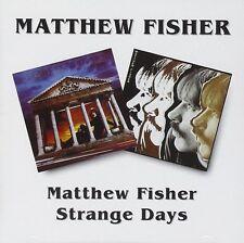 Matthew Fisher Matthew Fisher/Strange Days CD NEW SEALED Remastered Procol Harum
