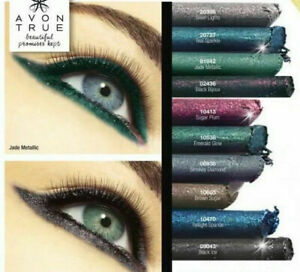 AVON TRUE COLOUR GLIMMERSTICK DIAMONDS EYELINER ~ VARIOUS SHADES TO CHOOSE FROM