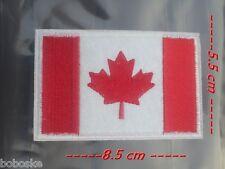 Patch Drapeau Canadien à coudre ou à coller au fer à repasser