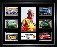 Dick Johnson Limited Edition Framed Memorabilia
