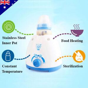 Multifunctional Baby Bottle Milk Warmer Heating Up Food And Sterilizing Bottle