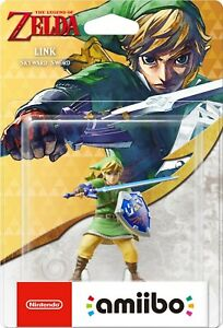 Nintendo Amiibo Link - Skyward Sword - The Legend of Zelda NEW & FACTORY SEALED