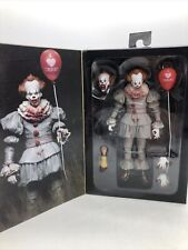 Neca Reel Toys~IT Pennywise 7.5? Action Figure & Accessories ~ READ NEW OPEN BOX