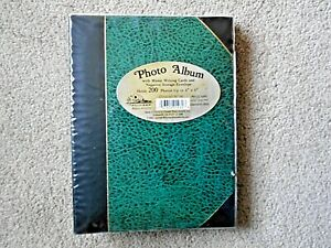 """Pioneer Green Album,w/200 Slip-in Pockets for  up to 4""""x6"""" PhotosStyle No. BT-46"""