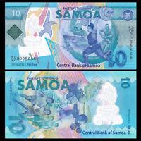 Western Samoa 10 Tala, 2019, P-NEW, Polymer, COMM. UNC