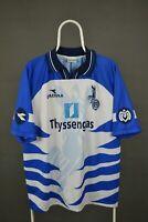 RARE Original diadorа 1998/1999 MSV Duisburg FC Home  Shirt Jersey Sz L-XL