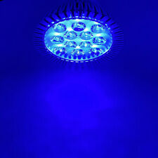 36W Blue Cyan 450nm 470nm 500nm LED Lamp Light Bulb PAR38 E26 E27 Plant Aquarium