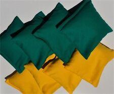 Set of 8 pcs John Deere Colors ACA Regulation Corn Hole Bags Baggo - Bean Bag -