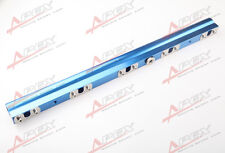 For Volvo 850 S/V/C70 S60 XC70N V70N High Flow CNC Billet Aluminum Fuel Rail BLU