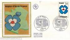 1978**ENVELOPPE SOIE**FDC 1°JOUR!!**ILE DE FRANCE**TIMBRE Y/T 1991