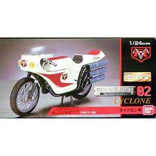 HG High Grade Metal Mecha Collection 02 Kamen Rider Cyclone 1/24 scale RARE