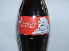 1991 Santa Christmas Bottle Coca-Cola Coke Bottle