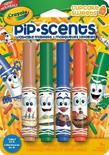Crayola Pip Scents Markers - Cupcake Sweets - 4 pack