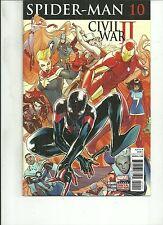 Spider Man #10 Miles Morales Marvel Comics 1St Print Nm Civil War