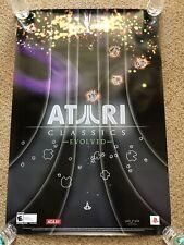Atari Classics Evolved RARE 2x3' Promo Poster 2007