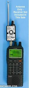Active Whip Antenna 400 KHz - 30 MHz For Icom IC-R20 * AOR AR8200 *Alinco DJ-X11