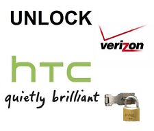 PREMIUM VERIZON UNLOCK SERVICE HTC ONE M10 M9 M8 M7 DESIRE A9 U11 ANY MODEL