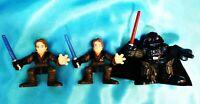 Set of 3 - ANAKIN DARTH VADER - LFL Hasbro Galactic Heroes Star Wars Toy Figure