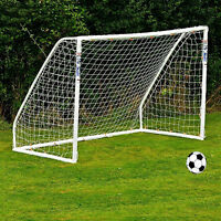 Full Size Football Net for Soccer Goal Post Junior Sports Training Low-Cost
