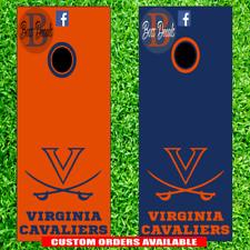 UVA Virginia Cavaliers Cornhole Set of 6 Vinyl Decal Stickers Bean Bag Toss