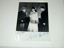 AUTOGRAPHE de SISSI ROMY SCHNEIDER, Palau, Alain Mac Moy, photographie Lyon 1962