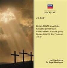 GOERNE,MATTHIAS / NORRINGTON,ROG: Js Bach: Cantata Bwv 82 Cantata Bwv 35 Sinfoni
