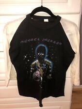 1984 Michael Jackson Victory Tour Concert T Shirt Original- size medium