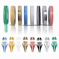 Car 12mm Striping Pin Stripe Steamline Double Line Tape Body Vinyl Sticker Decal