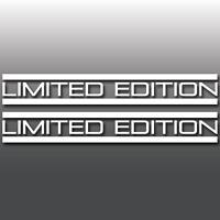 2x Limited Edition Funny JDM, Euro DUB Car Window Laptop Vinyl Decal Stickers