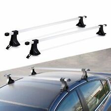 "54"" Top Roof Rack Cross Bars Luggage Cargo Carrier For 4 Door Car SUV Truck Jeep"